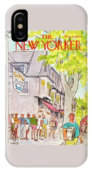 New Yorker August 6th, 1973 IPhone Case