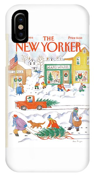 New Yorker December 10th, 1984 IPhone Case