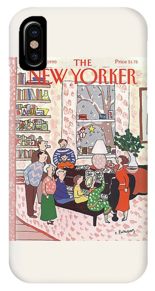 New Yorker December 10th, 1990 IPhone Case