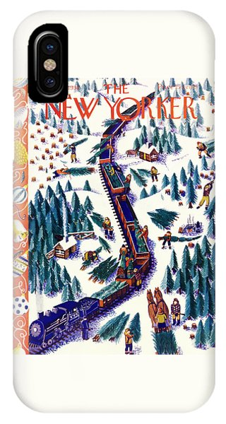 New Yorker December 12 1938 IPhone Case