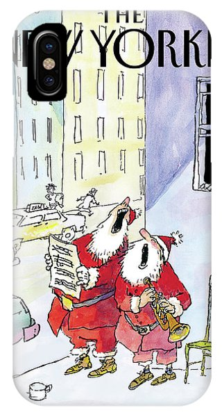 New Yorker December 13th, 2004 IPhone X Case