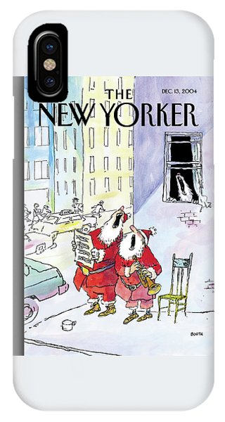 New Yorker December 13th, 2004 IPhone Case