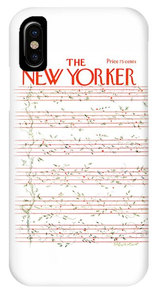 New Yorker December 15th, 1975 IPhone Case