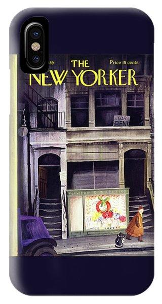 New Yorker December 16 1939 IPhone Case