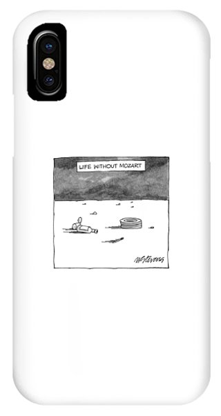 Life Without Mozart IPhone Case