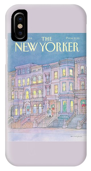 New Yorker December 17th, 1984 IPhone Case