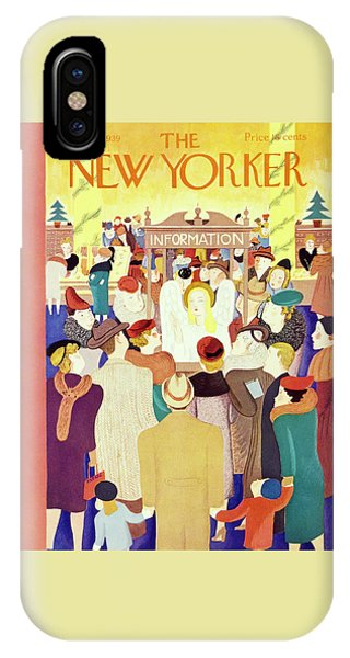 New Yorker December 2 1939 IPhone Case