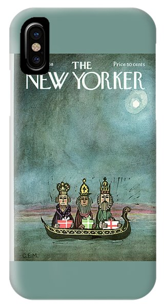 New Yorker December 21st, 1968 IPhone Case
