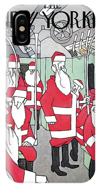 New Yorker December 25th, 1965 IPhone Case
