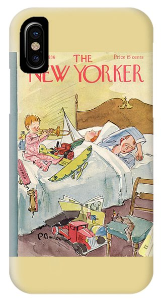 New Yorker December 26th, 1936 IPhone Case
