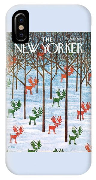 New Yorker December 26th, 1970 IPhone Case