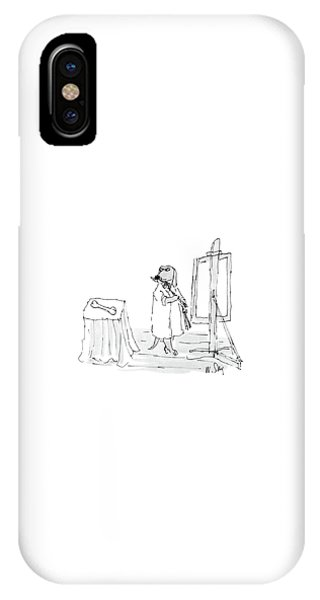 Bone iPhone Case - New Yorker December 26th, 1988 by William Steig
