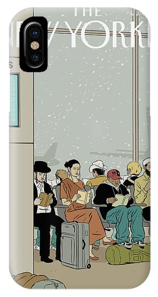 New Yorker December 26th, 2005 IPhone Case