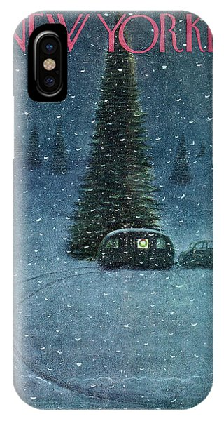 New Yorker December 27th, 1947 IPhone X Case
