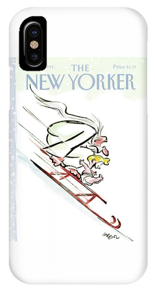 New Yorker December 30th, 1991 IPhone Case
