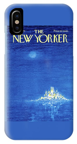 New Yorker December 3rd, 1973 IPhone Case
