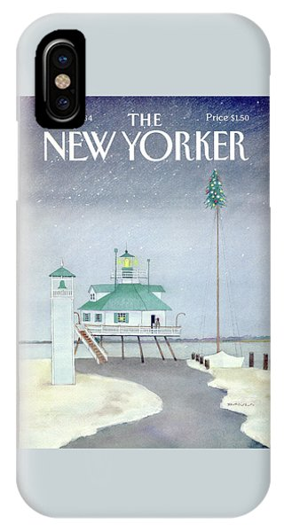 New Yorker December 3rd, 1984 IPhone Case