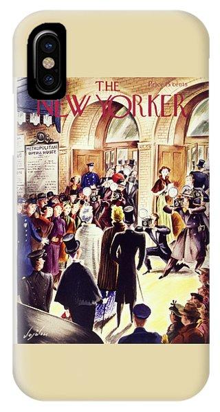 New Yorker December 4 1937 IPhone Case