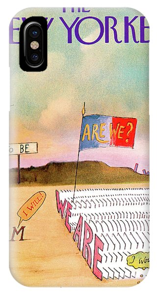 New Yorker December 4th, 1971 IPhone Case