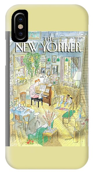 New Yorker December 4th, 2006 IPhone Case