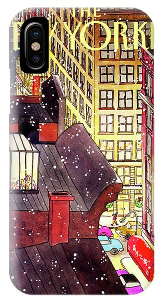 New Yorker December 7th, 1992 IPhone X Case