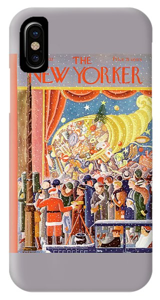 New Yorker December 9th, 1933 IPhone Case