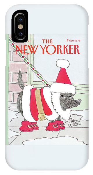 New Yorker December 9th, 1991 IPhone Case