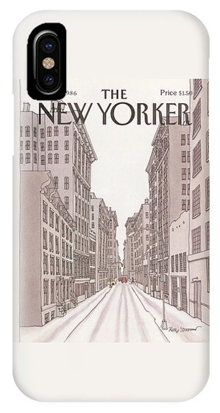 New Yorker February 10th, 1986 IPhone Case