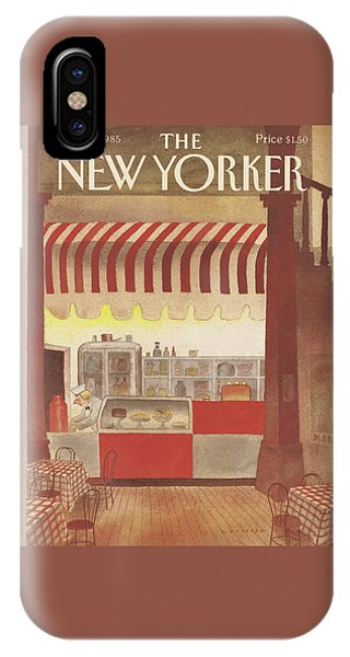 New Yorker February 11th, 1985 IPhone Case