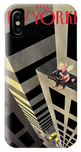 New Yorker February 15th, 1999 IPhone Case