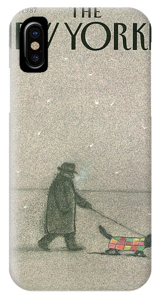 New Yorker February 16th, 1987 IPhone X Case