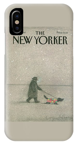 New Yorker February 16th, 1987 IPhone Case