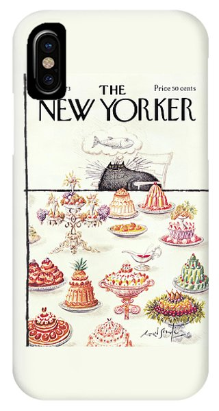 New Yorker February 17th, 1973 IPhone Case