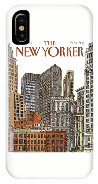 New Yorker February 1st, 1982 IPhone Case