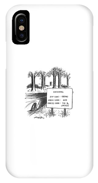 New Yorker February 1st, 1993 IPhone Case