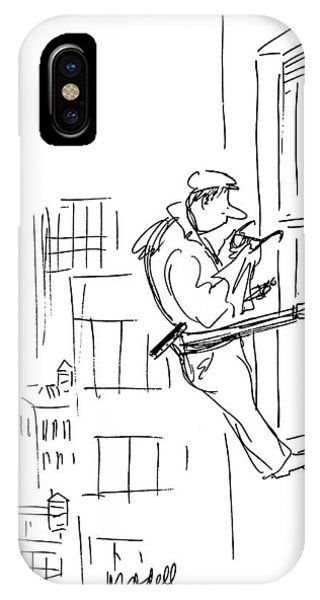 New Yorker February 24th, 1975 IPhone Case