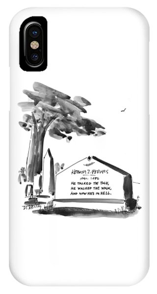 New Yorker February 24th, 1997 IPhone Case
