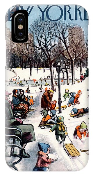 New Yorker February 26th, 1955 IPhone X Case