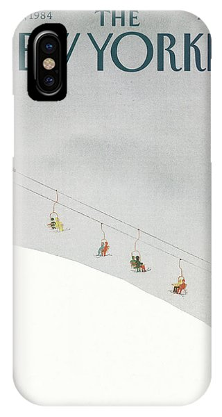 New Yorker February 27th, 1984 IPhone X Case