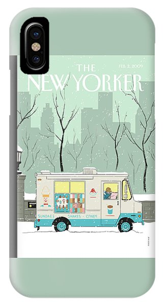 New Yorker February 2nd, 2009 IPhone Case