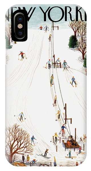 New Yorker February 3rd, 1951 IPhone Case