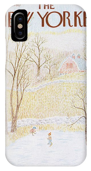 New Yorker February 4th, 1980 IPhone Case