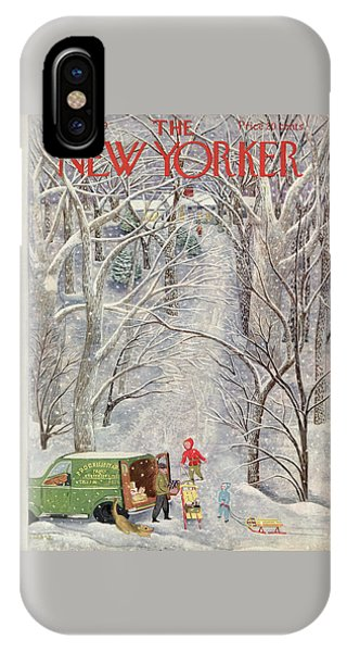 New Yorker February 5th, 1949 IPhone Case