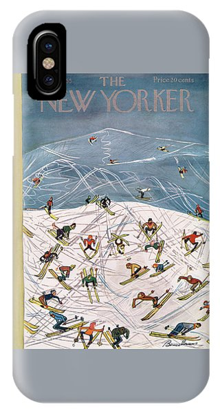 New Yorker February 5th, 1955 IPhone Case