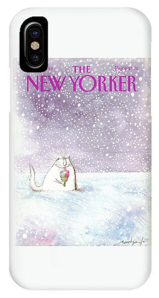 New Yorker February 8th, 1988 IPhone Case