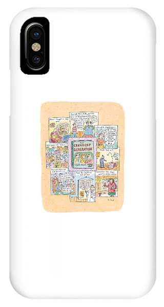 New Yorker February 8th, 1999 IPhone Case