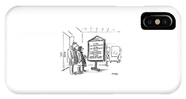 New Yorker January 10th, 1983 IPhone Case