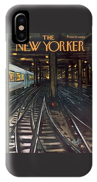 New Yorker January 12th, 1963 IPhone Case