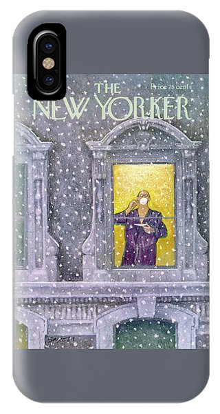 New Yorker January 12th, 1976 IPhone Case