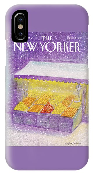 New Yorker January 12th, 1981 IPhone Case